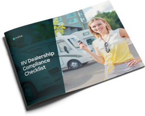 KPA - RV Dealership Compliance Checklist - Cover
