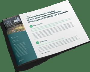 KPA Case Study Dallas Retirement Village Cover