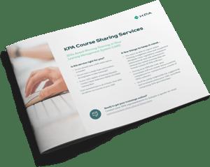 KPA Custom Content Services Datasheet Cover