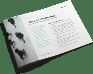 KPA - Mobile App Datasheet - Cover