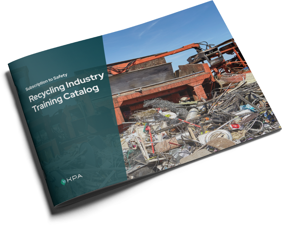 KPA - Subscription to Safety Training Catalog - Recycling Cover