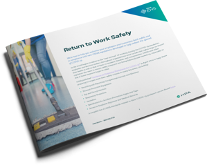 KPA - Coronavirus - Return to Work Safely Datasheet Cover