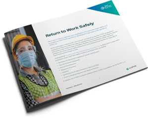 KPA - Coronavirus - Return to Work Safely Datasheet Manufacturing Cover